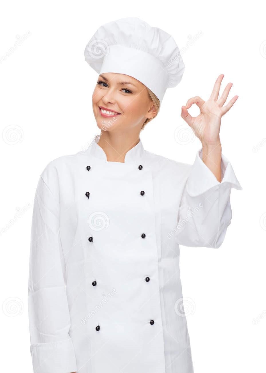 smiling-female-chef