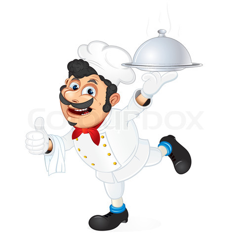 2118804-796227-chef-with-food-serving-tray-cartoon-vector-illustration